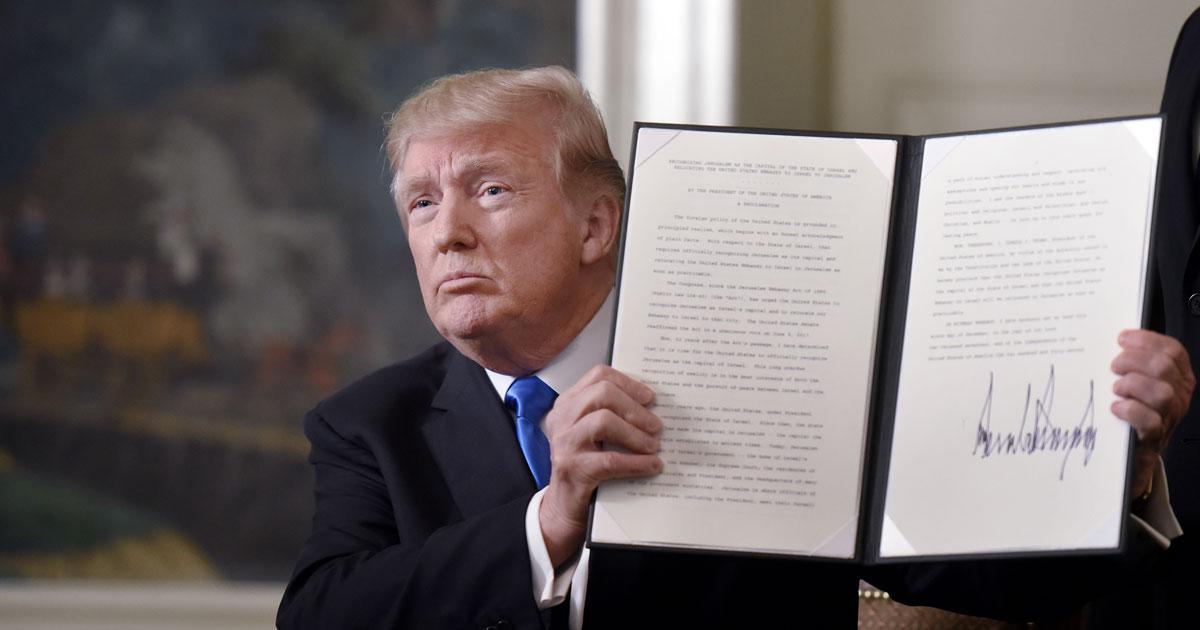 トランプのエルサレム首都承認は「国際情勢無視」で決断された