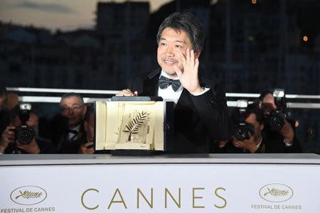 是枝監督作「万引き家族」がカンヌ映画祭で最高賞を受賞した