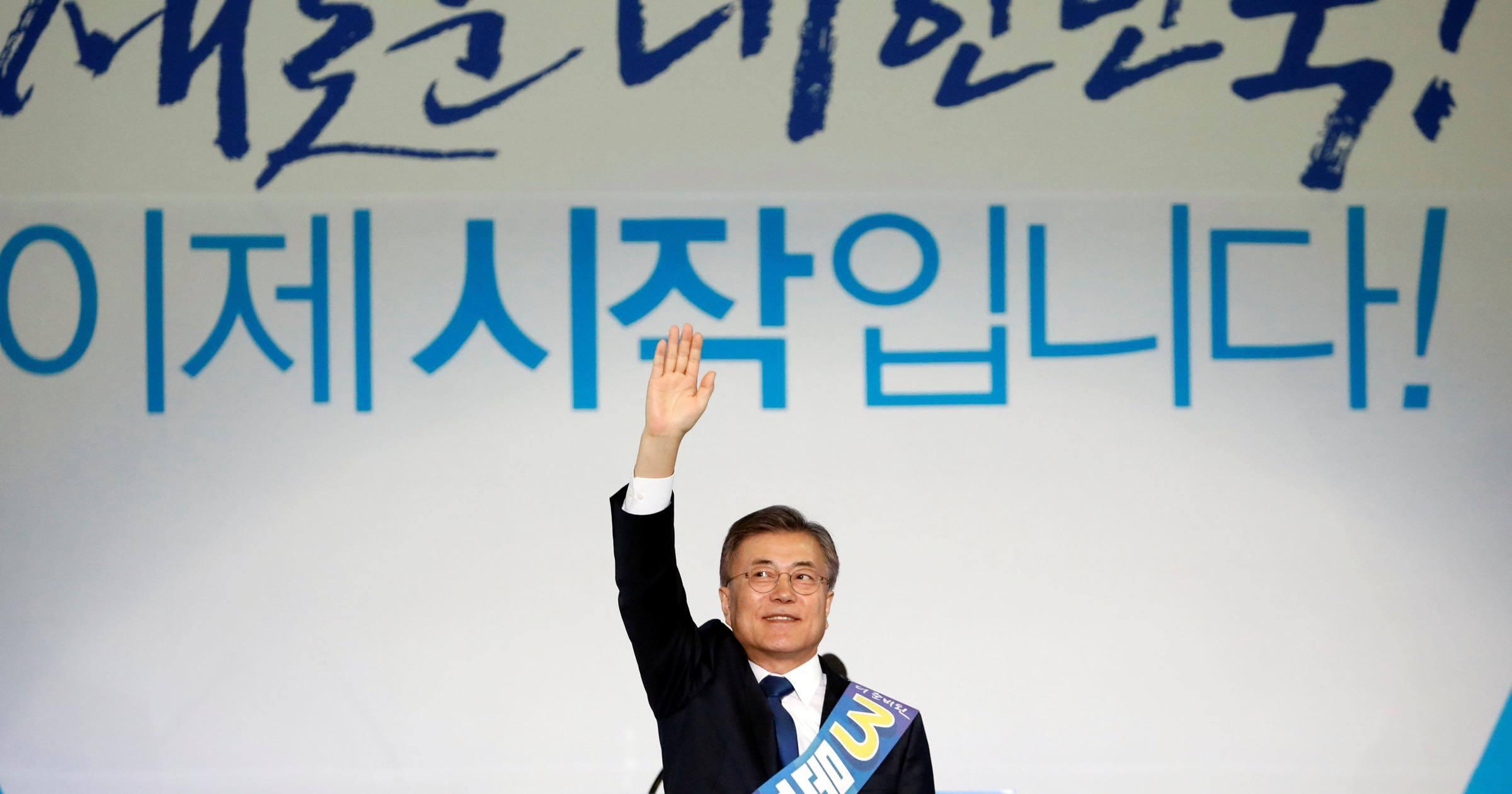 北の脅威下での韓国大統領選、「文」なら存亡の危機を迎える