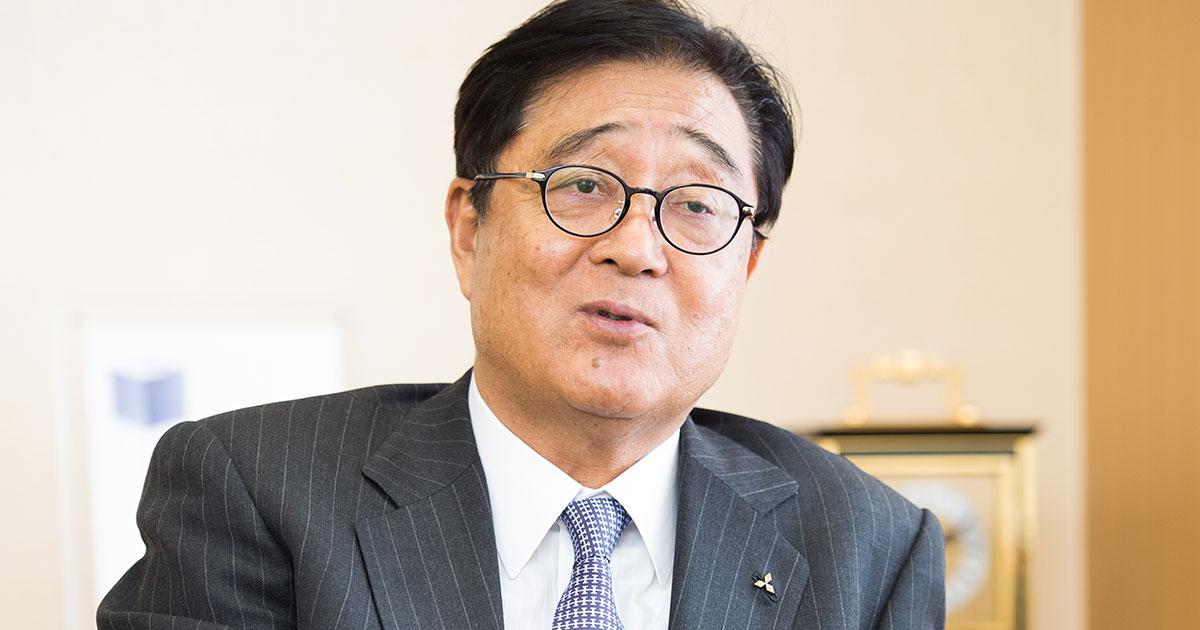 三菱自・益子修CEOが説く、企業も国も改革には「女性の力」が不可欠だ
