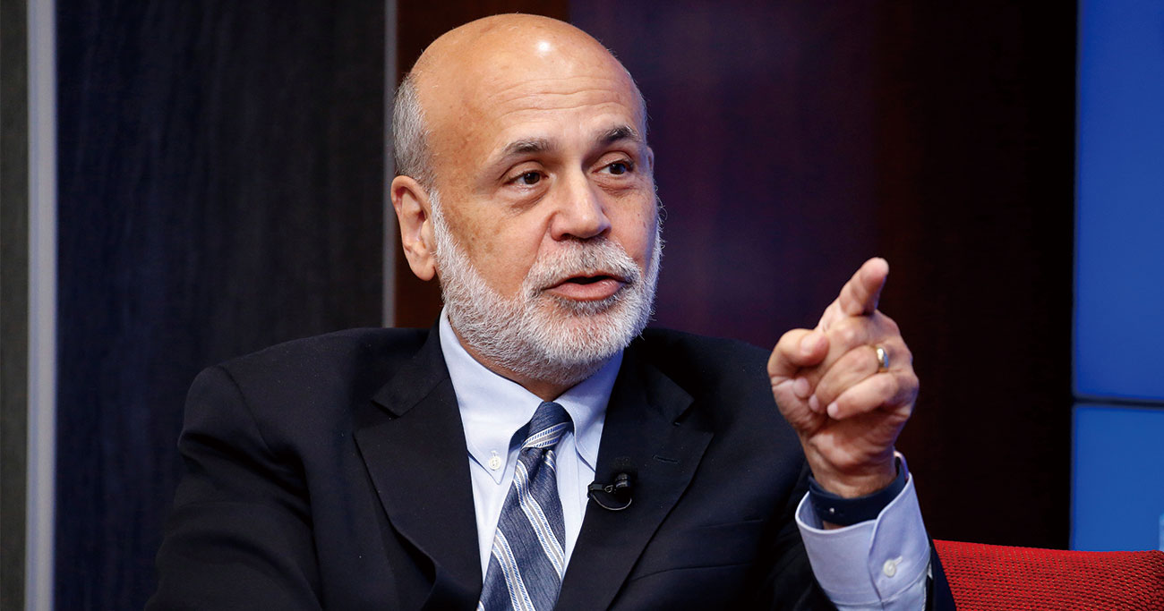 金融危機時にFRB議長を務めたバーナンキ氏(写真)が決めた量的金融緩和は低金利をもたらし、社債市場膨
