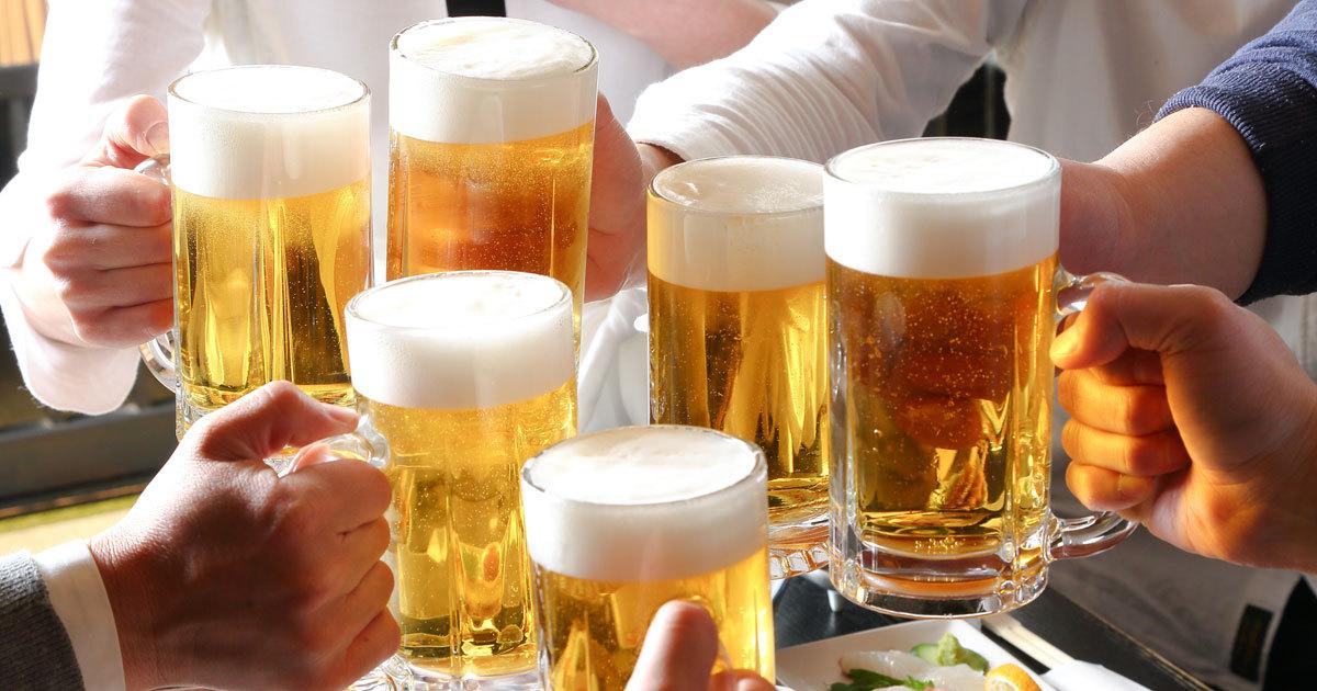 ビールを思いきり飲んでも太らない方法はある