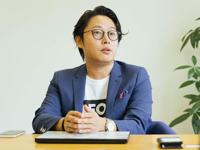 ラフール代表取締役社長CEOの結城啓太氏 Photo by Yuhei Iwamoto
