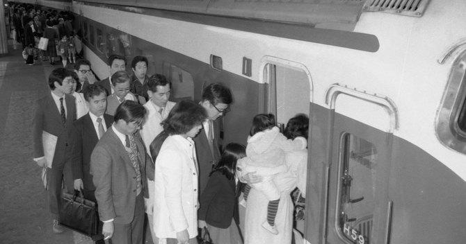 新幹線通勤ブームのきっかけは東京圏の地価高騰でした。