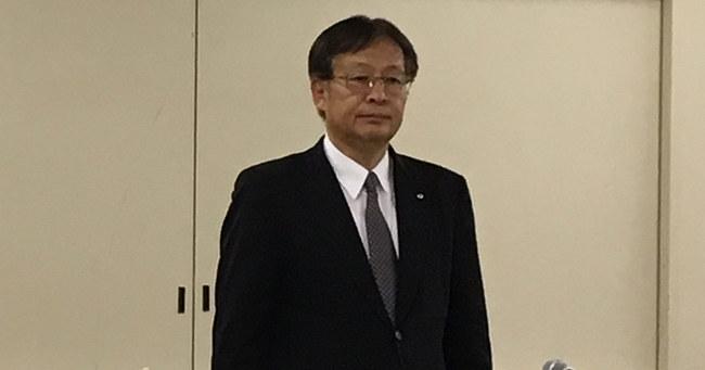 新たに社長に就任した杉田理之氏