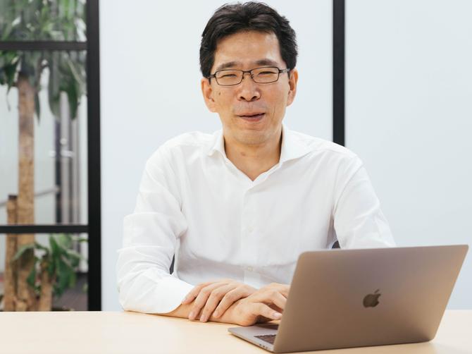 AIメディカルサービスの創業者で代表取締役CEOの多田智裕氏