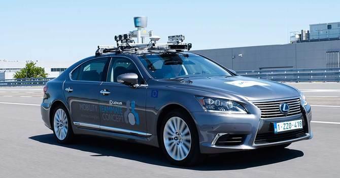 トヨタは欧州で自動運転車のテスト走行を開始