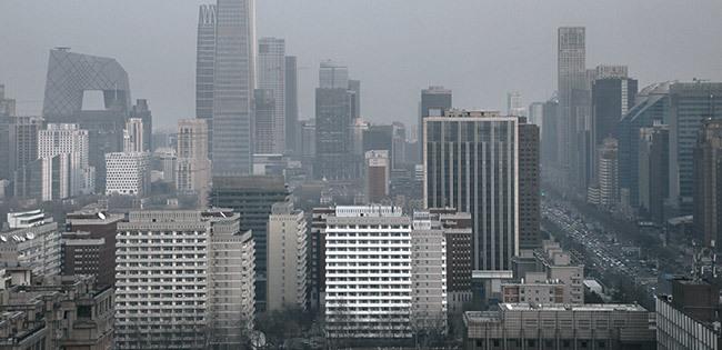 北京の街並