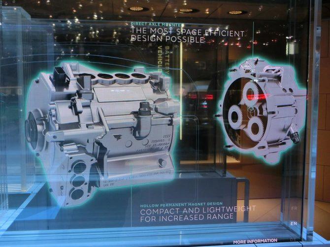 I-PACE専用に設計されたモーターとギアシステム