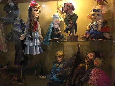 ウラジオストク 人形劇