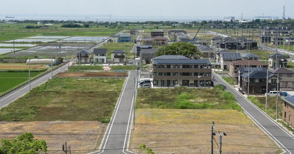アパートや戸建は高騰しているが、更地は見捨てられている