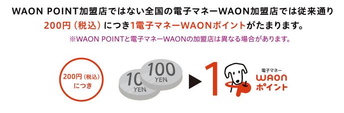 Waon ポイント 使い方 電子 マネー