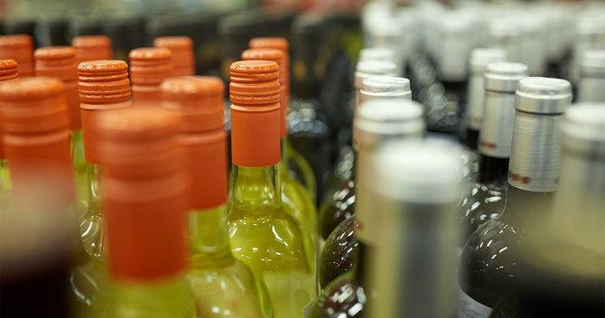 並んだワイン