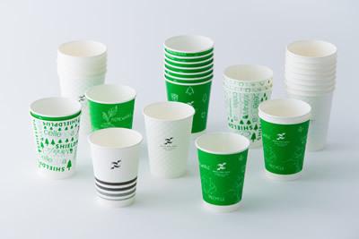 高いコーティング技術を持つ日本の製紙メーカーの紙コップ