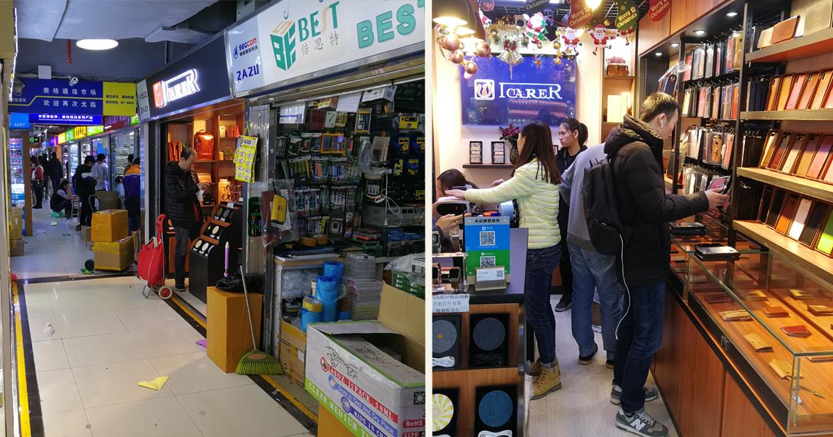 深セン電気街で自社ブランド電機製品増殖中、中国なのにFacebookも駆使