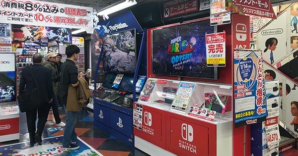 クリスマス商戦を目前にしてなお、スイッチは品薄だ Photo by Wakako Otsubo