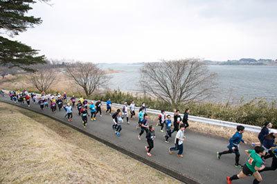 東北風土マラソンのコース