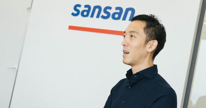 Sansan代表取締役社長の寺田親弘氏