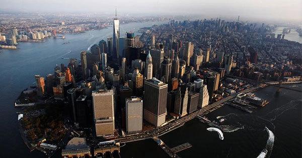 米ニューヨークの高層街