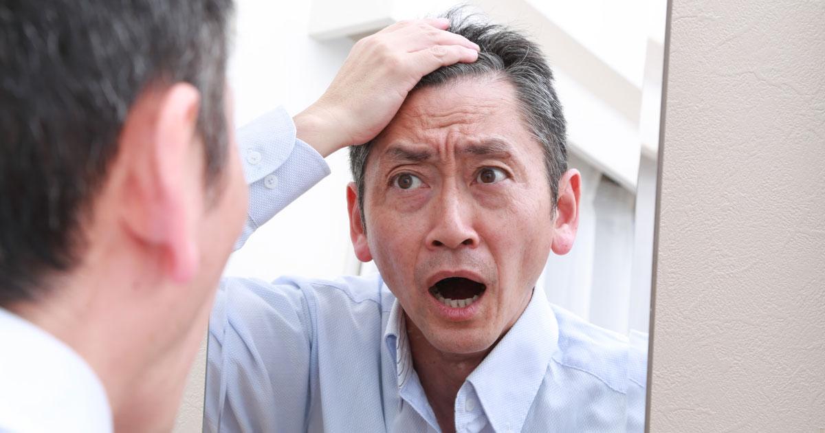 データが証明!「見た目」が老けた人は体の中も老化している!?