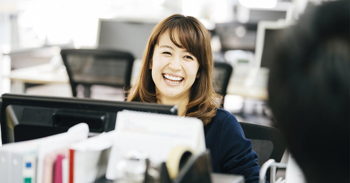 元気な毎日を送りたければつねに笑顔を心がけなさい