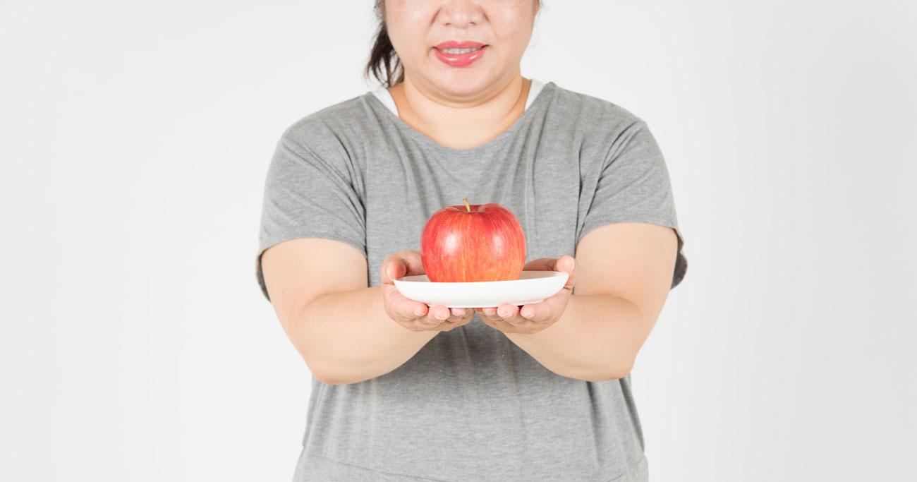 「リンゴ」体型の女性は閉経後の心疾患リスクに要注意