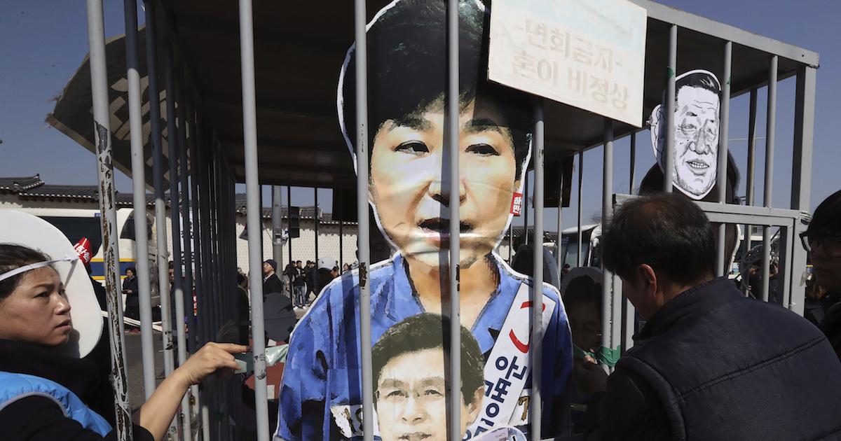 北朝鮮が韓国国民と共に大統領弾劾を喜ぶ不気味