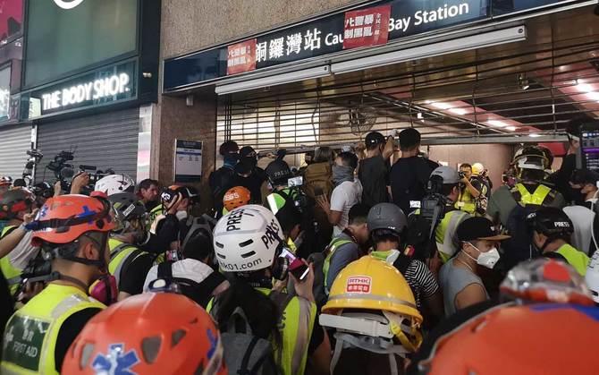 9月15日(日)のデモの様子