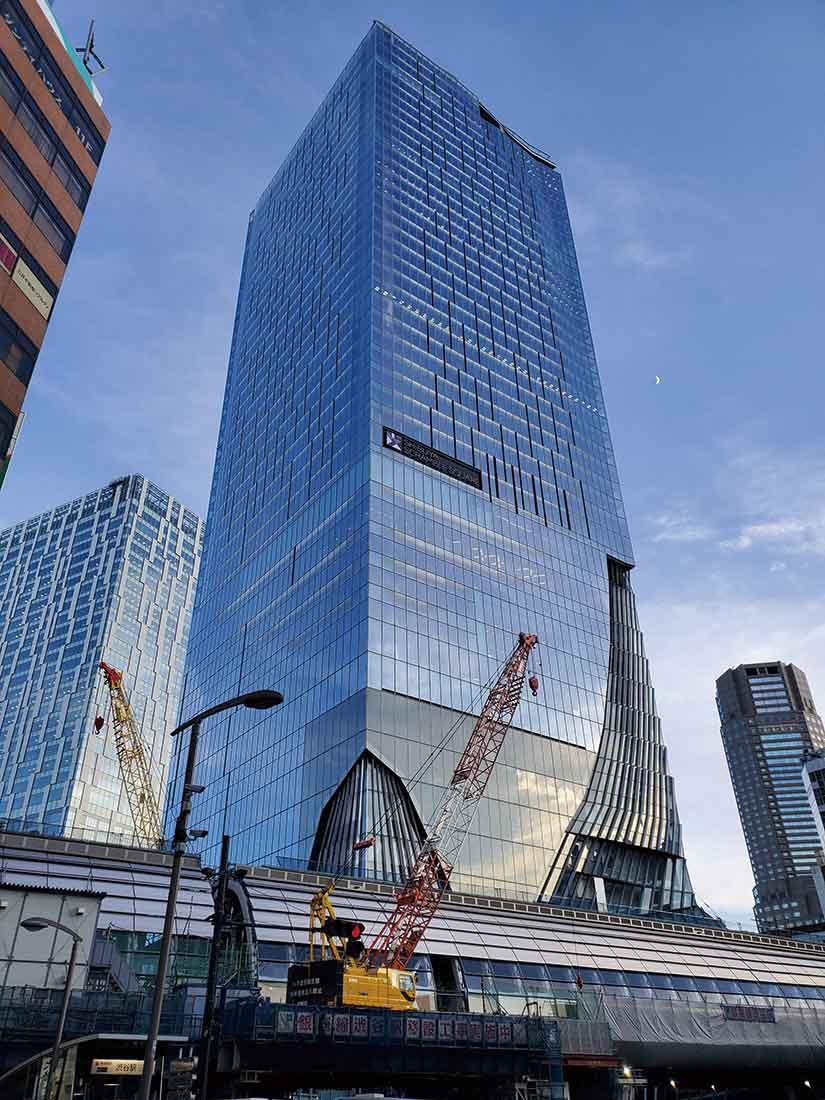 全身で「風を感じる」屋上の展望施設がある渋谷スクランブルスクエアの外観 Photo by Tomomi Matsuno