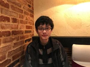 中国人留学生の趙添さん