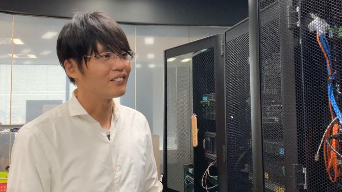 さくらインターネット代表取締役社長の田中邦裕氏