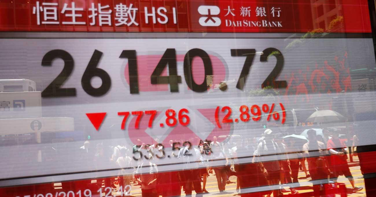 香港の株式市場に復調の兆し、不動産も安定