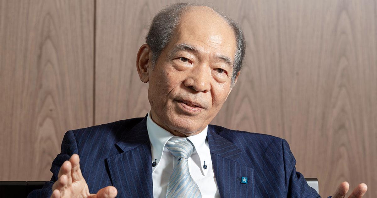 近畿大学が志願者数日本一になれた理由、塩崎名誉学長が語る