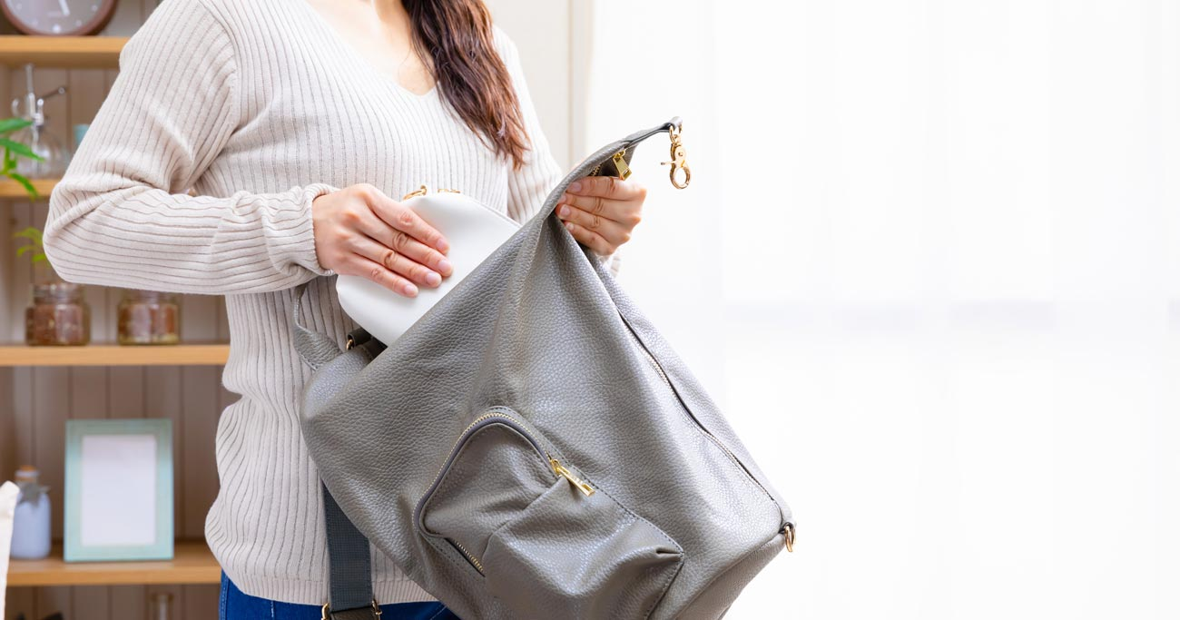 カバンの中の整理術、「バッグインバッグ」は失敗のもとだった!