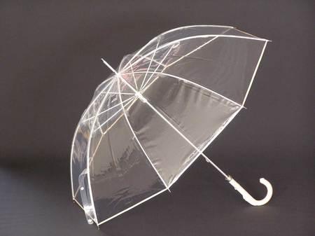 ビニール傘「縁結」