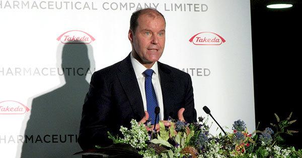 武田薬品工業のクリストフ・ウェバー社長CEO