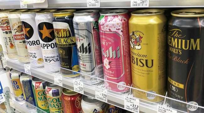各社ビール
