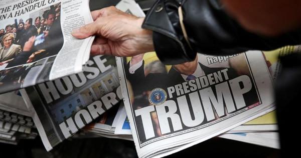 新聞業界に思わぬ「トランプ好景気」、広告増を招くか