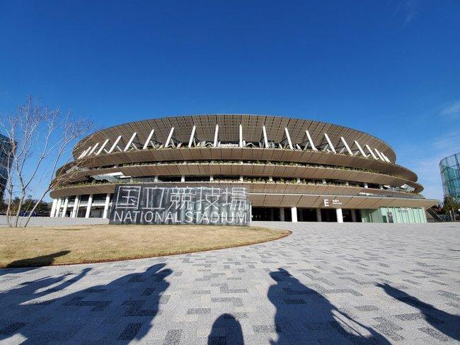 新国立競技場外観