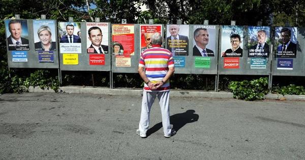 大混戦の仏大統領選、支持候補なく異例の高棄権率か