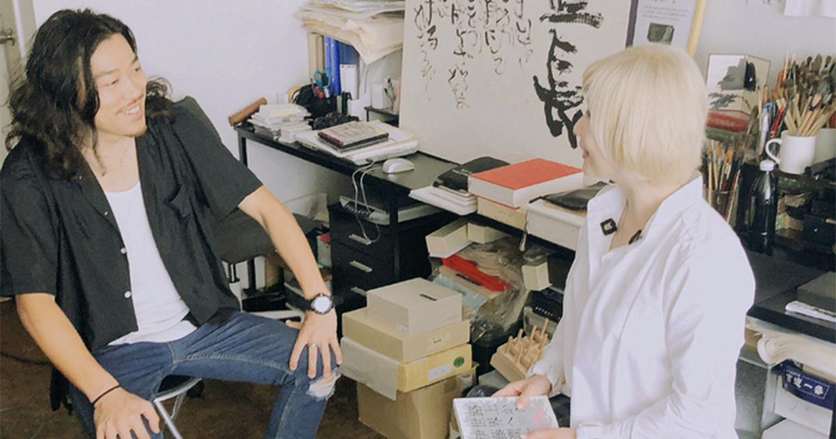 伊藤潤一さん対談【3】被災地でも、筆1本でコミュケーションが取れた