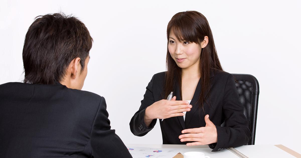「どのように感じられますか?」で、感想を聞くことにより、採用の動機を高める