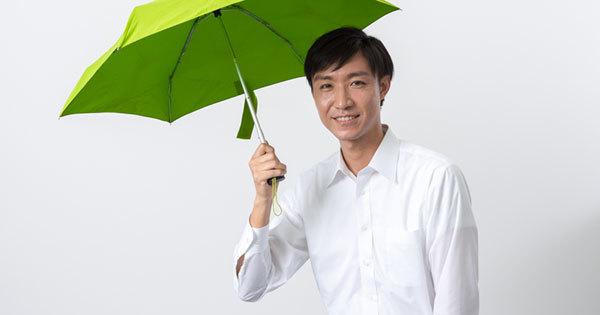 男性の日傘はありかなしか