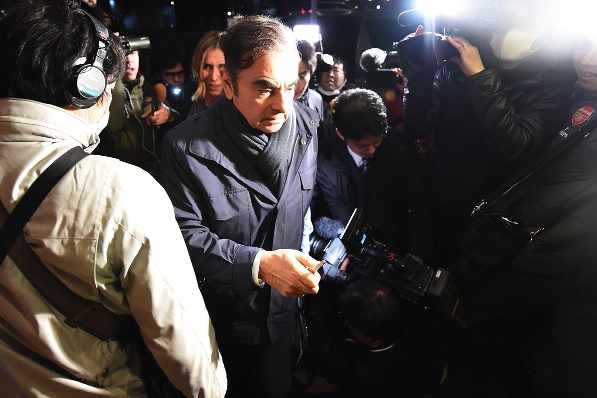 カルロス・ゴーン氏が再逮捕で再び収容されることになり、一番得をするのは誰か 写真:AFP=時事