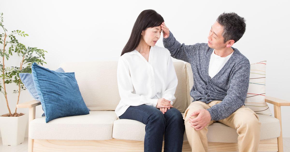 突然、妻を襲う原因不明の頭痛!男性も他人事ではない更年期障害の実態