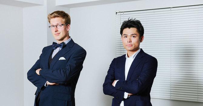 厚切りジェイソン氏(左)と豊田剛一郎氏