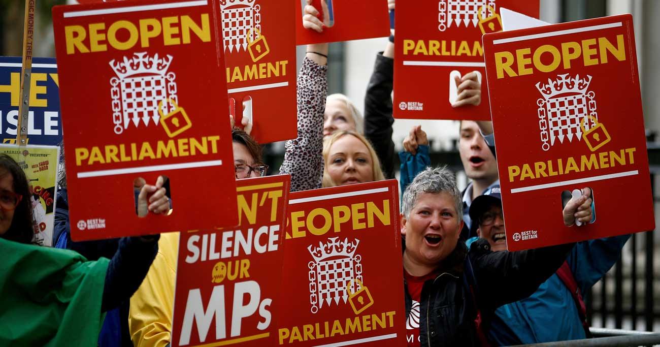 英最高裁「議会閉鎖は違法」、25日再開 首相はEU離脱方針堅持