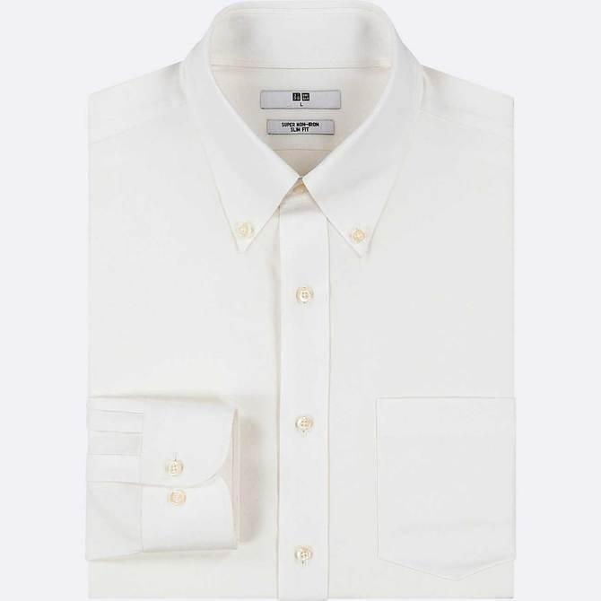 ユニクロの「スーパーノンアイロンシャツ」