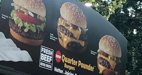 早さより味重視、マクドナルドが賭ける生肉使用バーガー