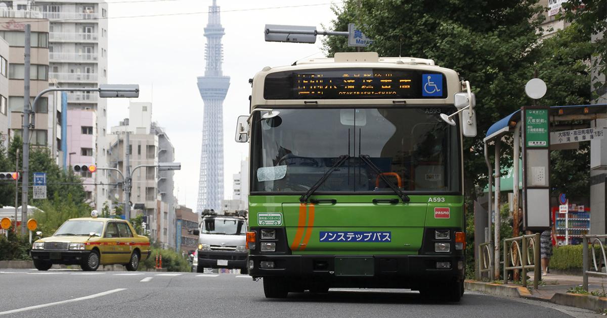都営バス、地味だけど着実に進化している交通機関の未来